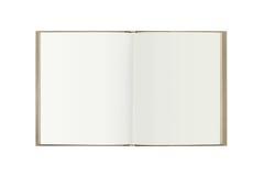 Brown przetwarza książkę zdjęcie royalty free