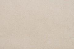 Brown przetwarza papierowego tło fotografia stock
