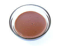 Brown-Pudding Lizenzfreies Stockfoto