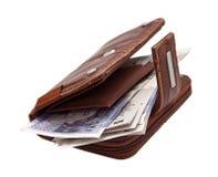 Brown purse, Stock Photos