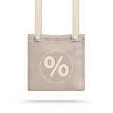 Brown Purse Bag Percent Royalty Free Stock Image