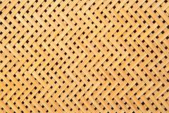 Brown rękodzieło wyplata tekstury łozinową powierzchnię dla meblarskiego szturmanu Zdjęcia Stock