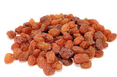 Brown raisins Royalty Free Stock Photos