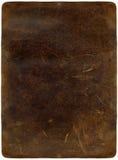 Brown rasguñó el cuero Fotografía de archivo libre de regalías