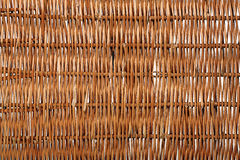 Brown rattan fibers background Royalty Free Stock Photos