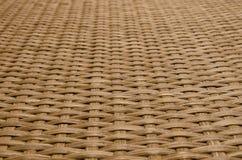 Brown rattan tekstura zdjęcia royalty free