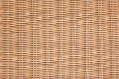 Brown Rattan tekstury Łozinowy tło Zdjęcie Royalty Free