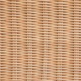 Brown Rattan tekstury Łozinowy tło Fotografia Royalty Free