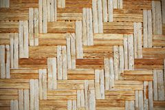 Brown rattan weave Royalty Free Stock Photos