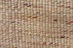 Brown rattan weave for closeup textured background stock photo