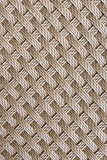 Brown rattan weave seamless pattern background. Royalty Free Stock Images