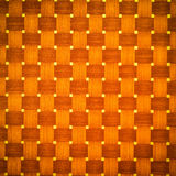 Brown rattan wood texture Stock Photography