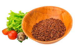 Brown raw rice Royalty Free Stock Photography