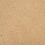 Brown recicló la textura de papel Imágenes de archivo libres de regalías