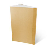 Brown recycle paper notebook Stock Image