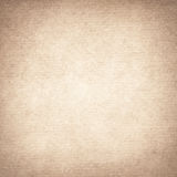 Brown recycled paper texture with vignette Stock Image