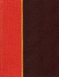 Brown and red cover Stock Photography