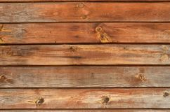 Brown resistiu ao contexto atado madeira das placas Fotos de Stock Royalty Free