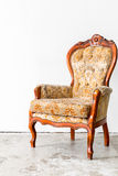 Brown Retro Chair Royalty Free Stock Photos