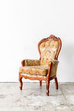 Brown Retro Chair Royalty Free Stock Photography