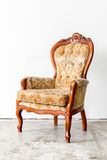 Brown Retro Chair Royalty Free Stock Photo