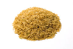 Brown rice. Close up shot for background Royalty Free Stock Photography