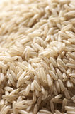 Brown rice as background Royalty Free Stock Image