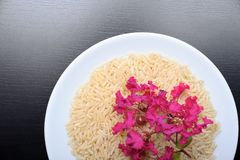 Brown rice Royalty Free Stock Photography