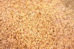 Brown rice for natural food. Royalty Free Stock Photography