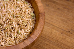 Brown rice Stock Image