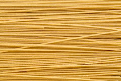 Brown rice pasta, spaghetti style Stock Photos