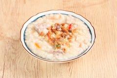 Brown rice porridge Royalty Free Stock Photos