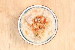 Brown rice porridge Royalty Free Stock Photo