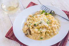 Brown Rice Risotto Royalty Free Stock Images
