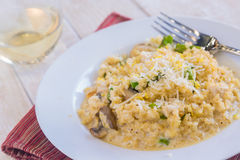 Brown Rice Risotto Stock Images