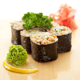 Brown Rice Roll Stock Photography