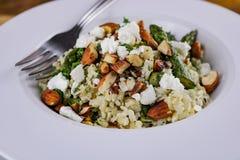 Brown Rice Salad royalty free stock photo