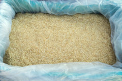 Brown Rice for Sale, Greek Street Market Stock Image