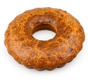 Brown ring cake Stock Image