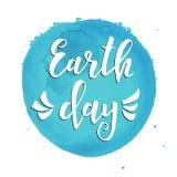 brown räknad dagjord som miljölövverk går den gående gröna treen för text för slogan för ordstäv för kramnaturuttryck Hand dragen Royaltyfri Foto