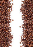 Brown roasted coffee beans Royalty Free Stock Photography
