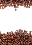 Brown roasted coffee beans Royalty Free Stock Photos