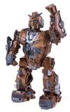 Brown robot Stock Photo
