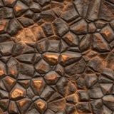 Brown rock Stock Photo