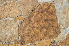 Brown rock background Stock Photography