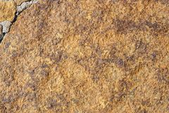 Brown rock background Stock Images