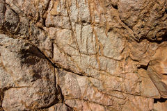 Brown rock background stone surface texture Stock Photos