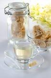 Brown rock sugar Royalty Free Stock Images