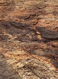 Brown rock texture Stock Photo