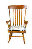 Brown rocking chair Royalty Free Stock Photography